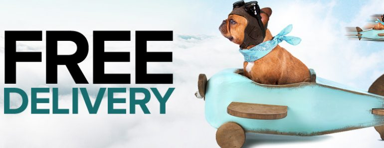free delivery pet food